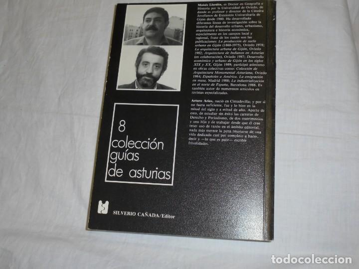 Libros de segunda mano: GUIA DE GIJON.MOISES LLORDEN/ARTURO ARIAS.PROLOGO DE PEDRO DE SILVA.SILVERIO CAÑADA 1989 - Foto 6 - 222814517