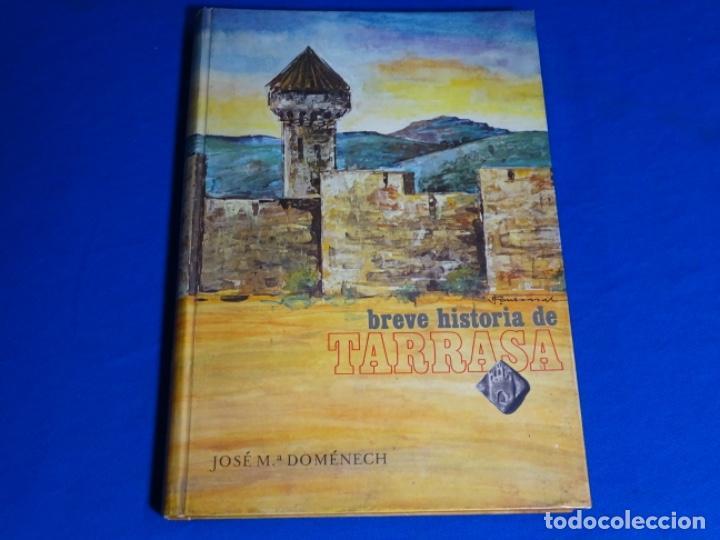 HISTORIA DE TERRASSA.J. M. D9MENECH.1972 (Libros de Segunda Mano - Geografía y Viajes)