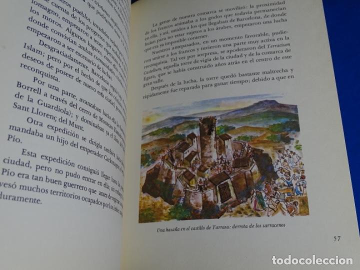 Libros de segunda mano: HISTORIA DE TERRASSA.J. M. D9MENECH.1972 - Foto 3 - 222847190