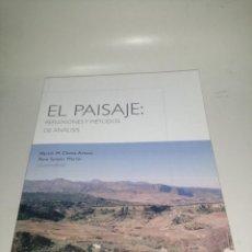 Libros de segunda mano: EL PAISAJE : REFLEXIONES Y MÉTODOS DE ANÁLISIS, MARTIN. M CHECA - ARTASU. Lote 222949652