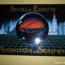 Libros de segunda mano: ANDALUCÍA... SIGLO XXI, SEVILLA EXPO'92, VVAA. Lote 224082346