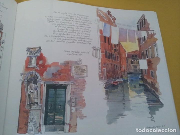 Libros de segunda mano: TUDY SAMMARTINI Y FABRICE MOIREAU - VENECIA CUADERNO DE VIAJE - ANAYA TOURING CLUB 2000 - Foto 6 - 224945822