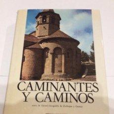 Libros de segunda mano: CAMINANTES Y CAMINOS LAS RUTAS HACIA SANTIAGO COMPOSTELA OURSEL EDICIONES ENCUENTRO. Lote 225080200
