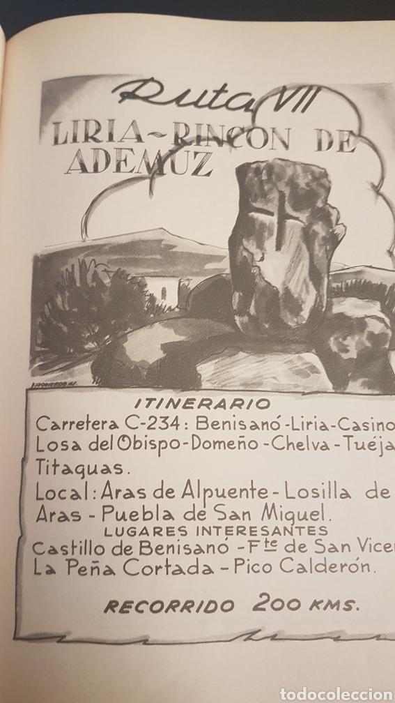 Libros de segunda mano: RUTAS VALENCIANAS, DE JOSÉ SOLER CARNICER, 2 EDICIÓN 1965 - Foto 4 - 225091007