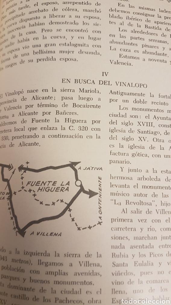 Libros de segunda mano: RUTAS VALENCIANAS, DE JOSÉ SOLER CARNICER, 2 EDICIÓN 1965 - Foto 5 - 225091007