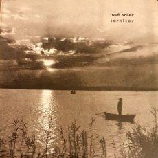 Libros de segunda mano: RUTAS VALENCIANAS, DE JOSÉ SOLER CARNICER, 2 EDICIÓN 1965. Lote 225091007