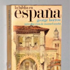 Livres d'occasion: LA BIBLIA EN ESPAÑA. Lote 225816820