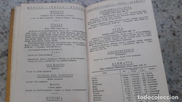 Libros de segunda mano: ATLAS PORTATIL DE ESPAÑA Y PORTUGAL, PERTHES, JUSTUS, 1938 - Foto 5 - 226107990
