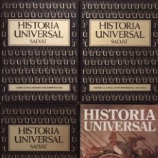 Libros de segunda mano: LOTE 4 LIBROS HISTORIA UNIVERSAL AMERICA AFRICA MUNDO OCEANIA - SALVAT - INSTITUTO GALLACH 3. Lote 226282765