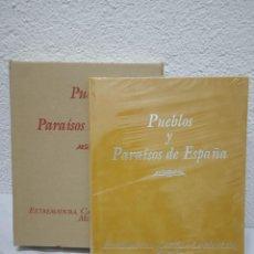 Libros de segunda mano: PUEBLOS DE ESPAÑA. EXTREMADURA, CASTILLA-LA MANCHA, MURCIA EDIRORIAL CULTURAL. AÑO 1999. Lote 226564130