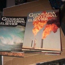Libros de segunda mano: LOTE DE 12 TOMOS GEOGRAFÍA ELSEVIER. Lote 226905315