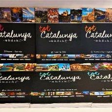 Libros de segunda mano: TOT CATALUNYA DE LA A A LA Z / COMPLETA 10 TOMOS / TRADICIONS, GASTRONOMIA, PAISATGE... OCASIÓN !. Lote 227481820