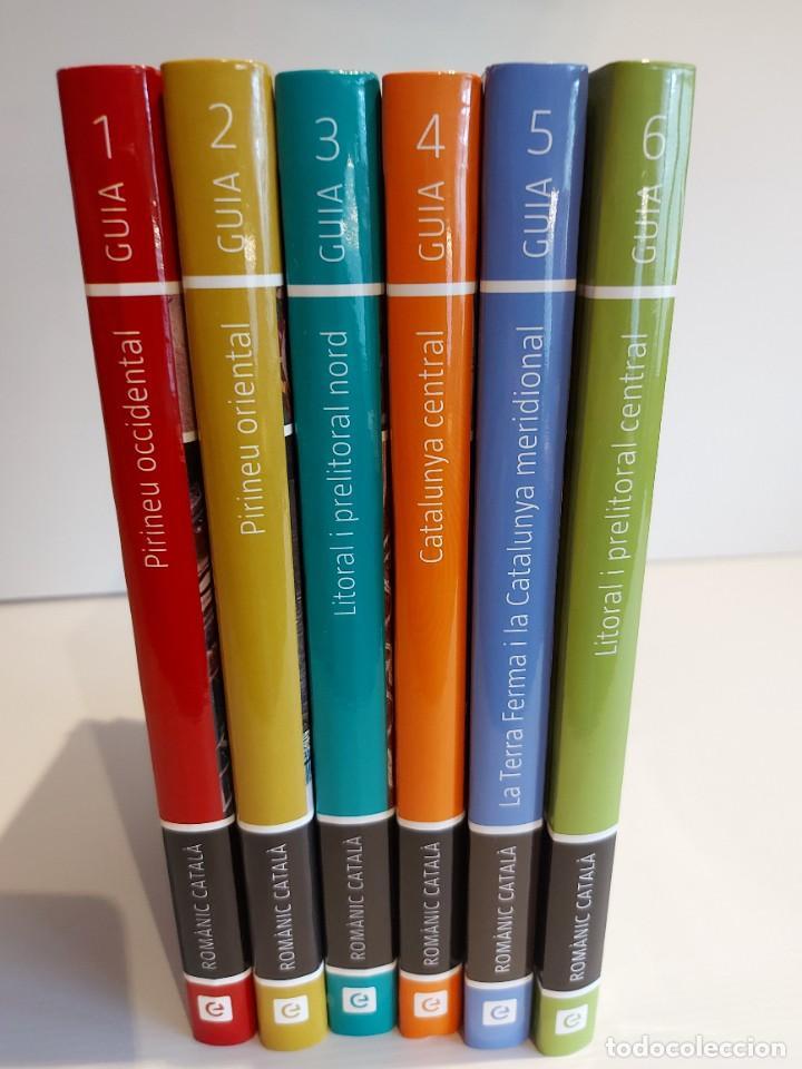 Libros de segunda mano: GUIA DEL ROMÀNIC CATALÀ / ENCICLOPÈDIA CATALANA / 50 ANYS / 6 VOLUMS / ANTONI PLADEVALL. - Foto 2 - 244883105