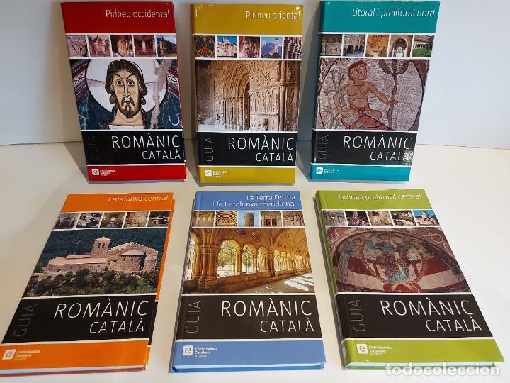 GUIA DEL ROMÀNIC CATALÀ / ENCICLOPÈDIA CATALANA / 50 ANYS / 6 VOLUMS / ANTONI PLADEVALL. (Libros de Segunda Mano - Geografía y Viajes)