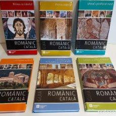 Libros de segunda mano: GUIA DEL ROMÀNIC CATALÀ / ENCICLOPÈDIA CATALANA / 50 ANYS / 6 VOLUMS / ANTONI PLADEVALL.. Lote 244883105