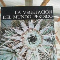Libros de segunda mano: LA VEGETACIÓN DEL MUNDO PERDIDO, TAPAS DURAS. PLANTAS DE LOS TEPUYES GUAYANESES. Lote 227668820