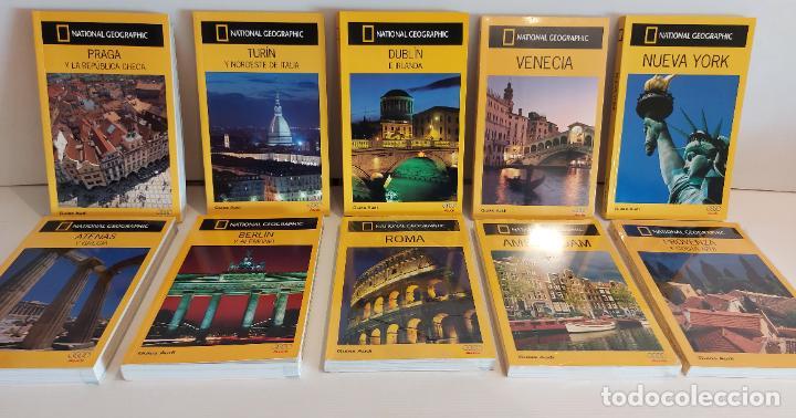 OCASIÓN !! GUIAS AUDI / NATIONAL GEOGRAPHIC / LOTE DE 10 GUIAS SIN USAR / 4 AÚN PRECINTADAS. (Libros de Segunda Mano - Geografía y Viajes)