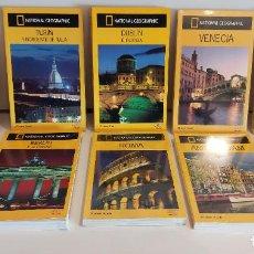 Libros de segunda mano: OCASIÓN !! GUIAS AUDI / NATIONAL GEOGRAPHIC / LOTE DE 10 GUIAS SI USAR / 4 AÚN PRECINTADAS.. Lote 227837878