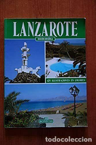 LIBRO LANZAROTE GUIA PIERLUIGI SCIALDONE (Libros de Segunda Mano - Geografía y Viajes)