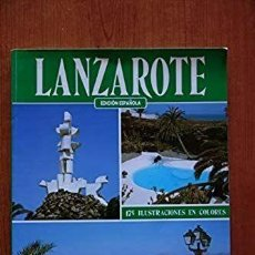Libros de segunda mano: LIBRO LANZAROTE GUIA PIERLUIGI SCIALDONE. Lote 228491950