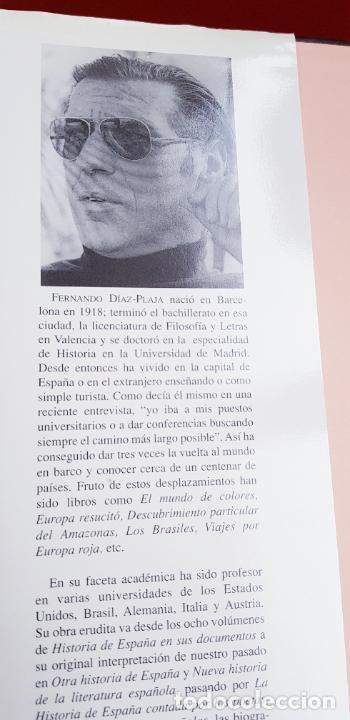 Libros de segunda mano: LIBRO-ESPAÑA EN SUS CASTILLOS-FERNANDO DÍAZ PLAJA-MAEVA EDICIONES S.L.-1995-SOBRECUBIERTA-EXCELENTE - Foto 5 - 228505650