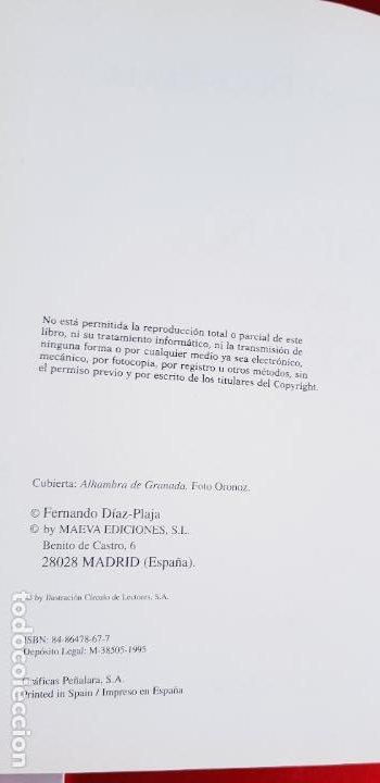 Libros de segunda mano: LIBRO-ESPAÑA EN SUS CASTILLOS-FERNANDO DÍAZ PLAJA-MAEVA EDICIONES S.L.-1995-SOBRECUBIERTA-EXCELENTE - Foto 10 - 228505650