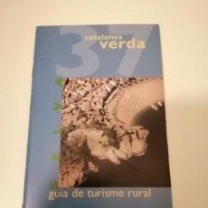 Libros de segunda mano: CATALUNYA VERDA GUÍA DE TURISME RURAL 36 MARESME Y 37 SELVA. Lote 228510975