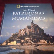 Libros de segunda mano: ATLAS VISUAL PATRIMONIO DE LA HUMANIDAD. NATIONAL GEOGRAFIC. Lote 229481665