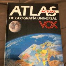 Libros de segunda mano: COLECCION ATLAS ACTUAL DE GEOGRAFIA UNIVERSAL VOX, PRIMERA EDICION1992. Lote 229539865