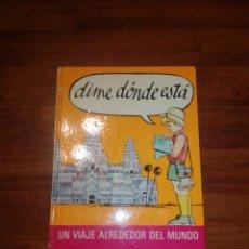 Livros em segunda mão: LIBRO DIME DONDE ESTÁS. Lote 230459435