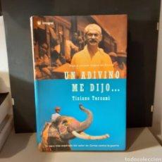 Livros em segunda mão: UN ADIVINO ME DIJO-TIZIANO TERZANI. Lote 230509635