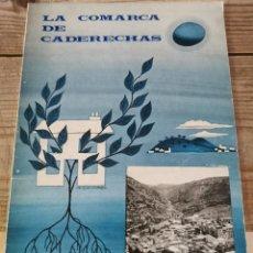 Libri di seconda mano: LA COMARCA DE CADERECHAS, 1968, 54 PAGINAS, MINISTERIO DE AGRICULTURA, RARO. Lote 230514190