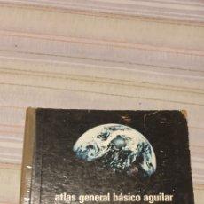 Libros de segunda mano: ATLAS GENERAL BASICO AGUILAR 1973. Lote 230792105