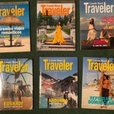 Libros de segunda mano: LOTE DE 6 REVISTAS CONDE NAST TRAVELER (VER DESTINOS EN FOTOS). Lote 232888665
