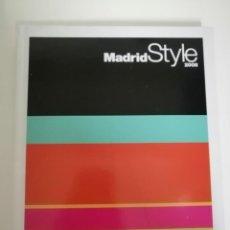 Libros de segunda mano: MADRID STYLE 2008. Lote 234307885
