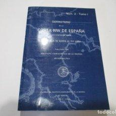 Libros de segunda mano: DERROTERO DE LA COSTA NW DE ESPAÑA NÚ. 2- TOMO I W 5131. Lote 234477235