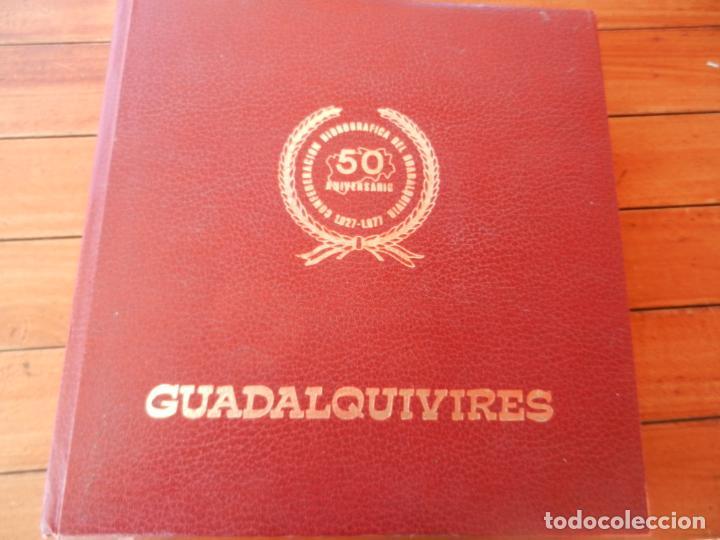 GUADALQUIVIRES - 50 ANIVERSARIO CONFEDERACIÓN HIDROGRÁFICA GUADALQUIVIR - 1977 - SEVILLA (Libros de Segunda Mano - Geografía y Viajes)
