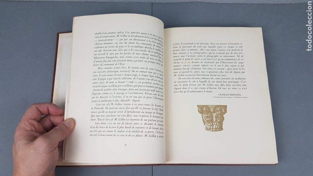 Libros de segunda mano: EXCELENTE LIBRO DE FOTOGRABADOS, ROBERT GILLON DE SEGOVIA. AÑO 1949.EDIC. NUMERO 322. DESCATALOGADO - Foto 7 - 235450250