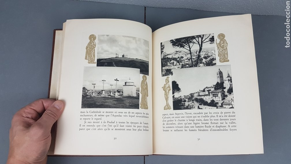 Libros de segunda mano: EXCELENTE LIBRO DE FOTOGRABADOS, ROBERT GILLON DE SEGOVIA. AÑO 1949.EDIC. NUMERO 322. DESCATALOGADO - Foto 12 - 235450250