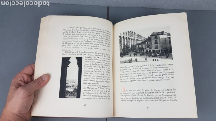 Libros de segunda mano: EXCELENTE LIBRO DE FOTOGRABADOS, ROBERT GILLON DE SEGOVIA. AÑO 1949.EDIC. NUMERO 322. DESCATALOGADO - Foto 17 - 235450250