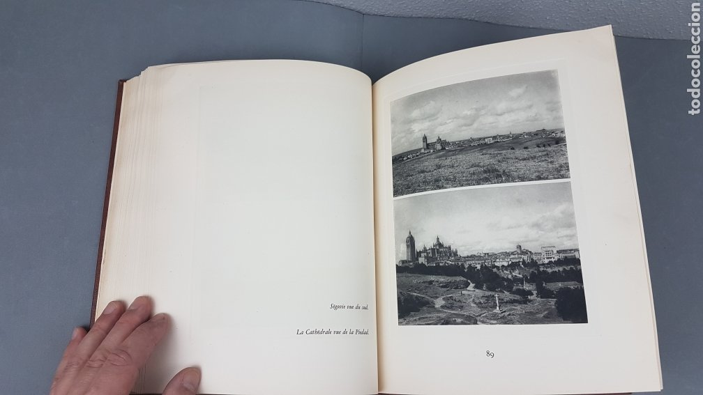 Libros de segunda mano: EXCELENTE LIBRO DE FOTOGRABADOS, ROBERT GILLON DE SEGOVIA. AÑO 1949.EDIC. NUMERO 322. DESCATALOGADO - Foto 24 - 235450250