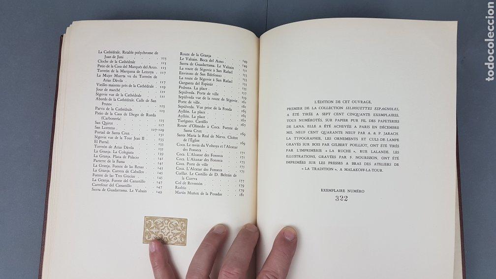 Libros de segunda mano: EXCELENTE LIBRO DE FOTOGRABADOS, ROBERT GILLON DE SEGOVIA. AÑO 1949.EDIC. NUMERO 322. DESCATALOGADO - Foto 33 - 235450250