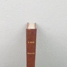 Libros de segunda mano: EXCELENTE LIBRO DE FOTOGRABADOS, ROBERT GILLON DE SEGOVIA. AÑO 1949.EDIC. NUMERO 322. DESCATALOGADO. Lote 235450250