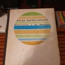 Libros de segunda mano: ATLAS BACHILLERATOED. AGUILAR EDICION 1970. Lote 235614185