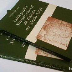 Libros de segunda mano: 1990 - RÍO BARJA - CARTOGRAFÍA XURISDICCIONAL DE GALICIA NO SÉCULO XVIII. TEXTO + MAPAS.. Lote 235696240