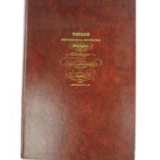Libros de segunda mano: VOYAGE PITTORESQUE ET MILITAIRE EN ESPAGNE, CATALOGNE, M. C. LANGLOIS, PARIS, FACSÍMIL, 1978.. Lote 235882485