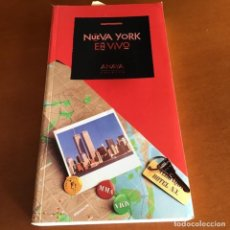 Libros de segunda mano: LIBRO NUEVA YORK EN VIVO - ANAYA GASTRONOMÍA - TIENDAS - MERCADOS -VIDA NOCTURNA-MUSEOS - GALERÍAS. Lote 236028965