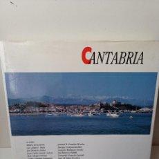 Libros de segunda mano: CANTABRIA. -LIBRO DE GRAN FORMATO-EDITORIAL MEDITERRANEO.. Lote 236132125