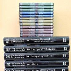 Libros de segunda mano: PATRIMONIO DE LA HUMANIDAD UNESCO EDITORIAL PLANETA DE AGOSTINI. Lote 236667255