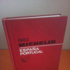 Libros de segunda mano: GUIA MICHELIN - ESPAÑA - PORTUGAL - AÑO 1982. Lote 236711985